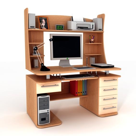 """Mebelstyle """" компьютерный стол 12."""